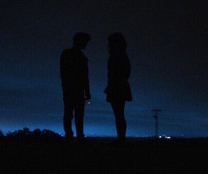 night, couple, and grunge image