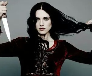 katie mcgrath, merlin, and morgana image