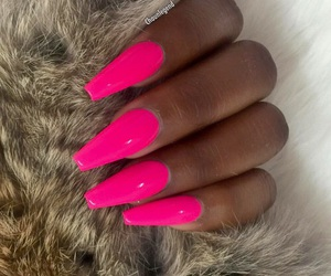girly, hot pink, and pretty image