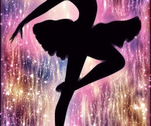 ballerina, clipart, and colorful image