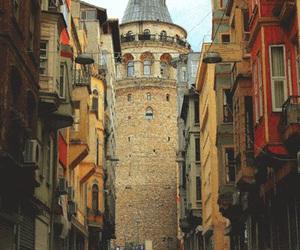 istanbul, turkey, and galata image
