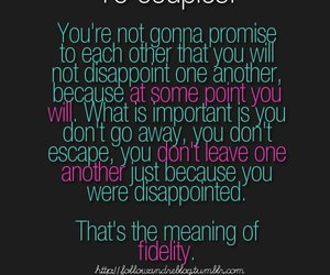 couple, love, and quote image