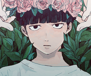anime, mob psycho 100, and boy image