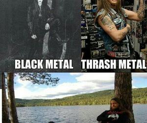 Black Metal, thrash metal, and doom metal image