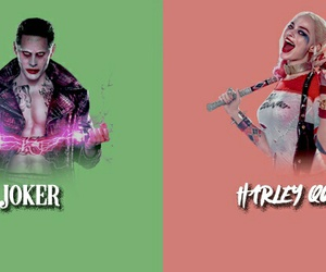 harley quinn, suicide squad, and guy image