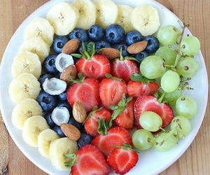 banana, berries, and breakfast image