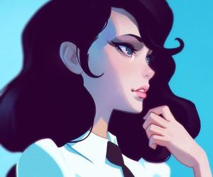 anime girl, hd wallpaper, and ani image