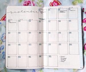 calendar, inspiration, and pencil image