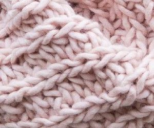 cosy, pink, and winter image
