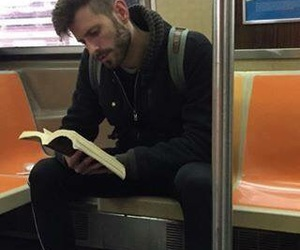 book, boy, and read image