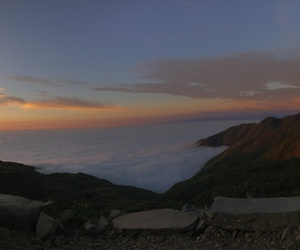 clouds, panoramic, and nature image
