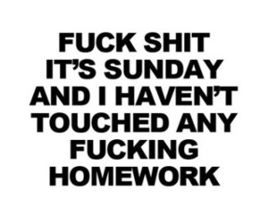 funny, homework, and text image