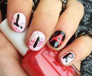 nails, pretty little liars, and pll image