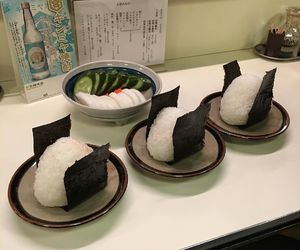 food, japan, and rice image