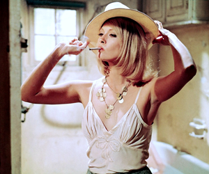 bonnie and clyde and Faye Dunaway image