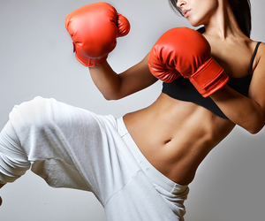 box, boxing, and sport image