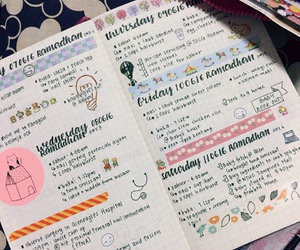 planner, study inspiration, and bullet journal image
