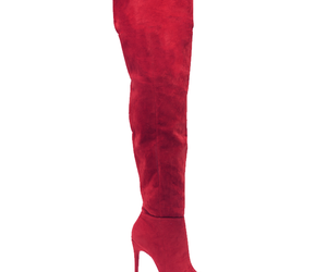 boots, thigh high boots, and suede boots image