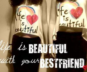 beautiful, best friend, and bff image