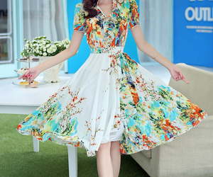 comfortable, casual summer dress, and beautiful lady dresses image