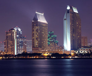 city, photography, and San Diego image