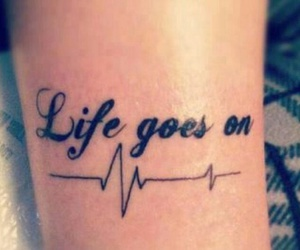 tattoo, beautiful, and life image