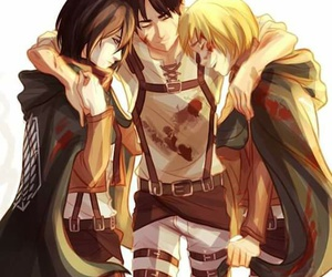 shingeki no kyojin, anime, and armin image