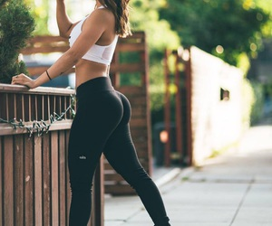 fit, fitness, and girl image