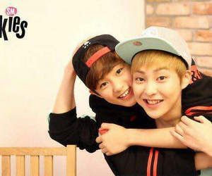 exo, xiumin, and mark image