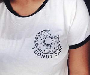 girl, donuts, and fashion image