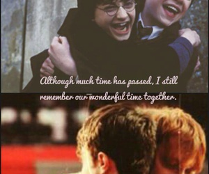 bff, daniel radcliffe, and harry potter image