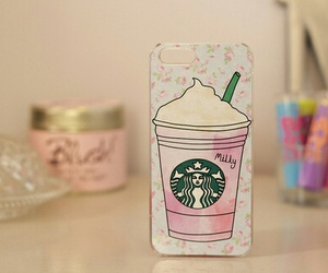 iphone, starbucks, and case image