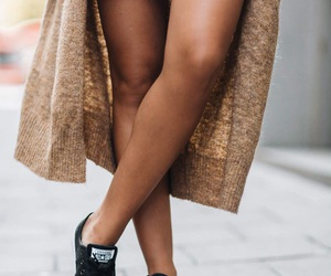 brown and cardigan image