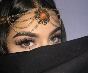 arabic, make up, and beauty image