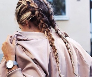 autumn, girly, and hair image