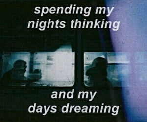 grunge, quotes, and night image