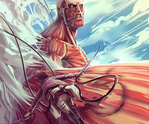 attack on titan, shingeki no kyojin, and anime image