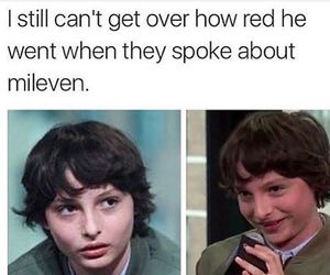 11, finn wolfhard, and eleven image