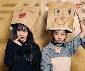 wjsn, yeoreum, and cosmic girls image