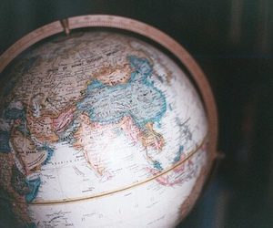 world, globe, and travel image