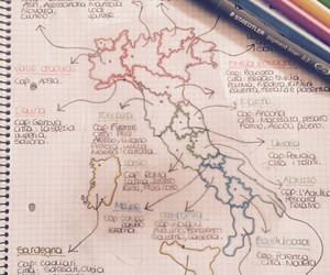 colors, italy, and study image