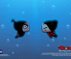 pucca and miss derrie image