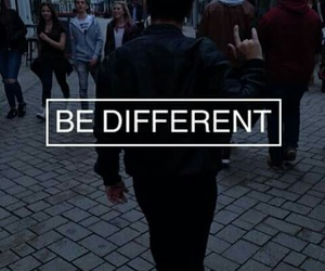 chance, yourself, and be different image