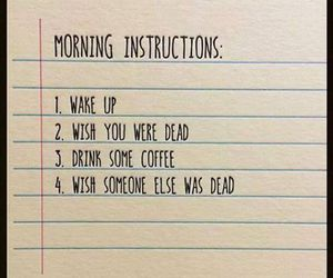 coffee, morning, and funny image