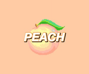 peach, aesthetic, and pastel image
