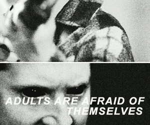 black and white, dean winchester, and quotes image