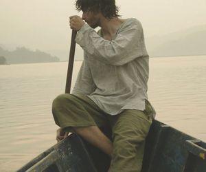 boy, boat, and fantasy image