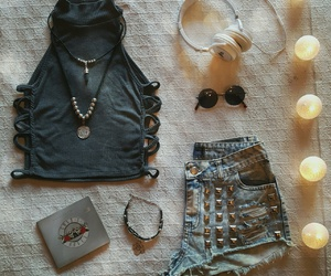 accesories, rock, and rockstyle image