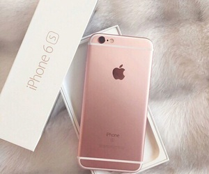 iphone, pink, and 6 image