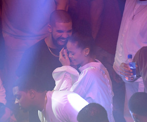Drake, rihanna, and goals image